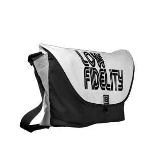 Low Fidelity Courier Bag