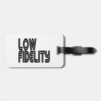 Low Fidelity Tags For Bags