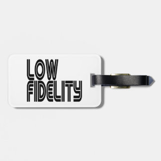 Low Fidelity Tags For Luggage