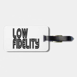 Low Fidelity Luggage Tag