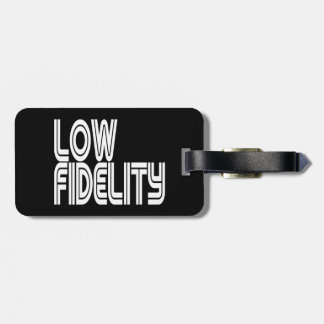 Low Fidelity Tag For Bags