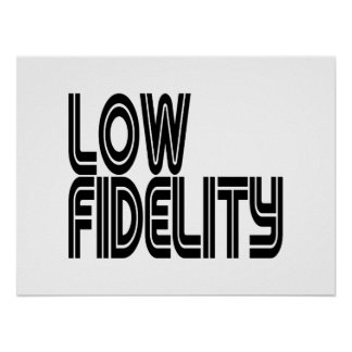 Low Fidelity Poster