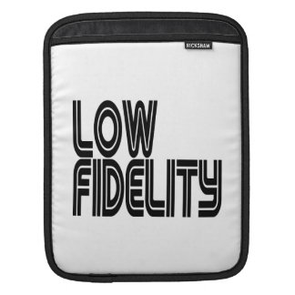 Low Fidelity Sleeve For iPads