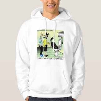 Low Flow Toilets & Cats Hoodie