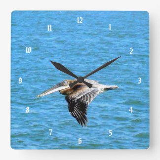 Low Flyer Square Wall Clock