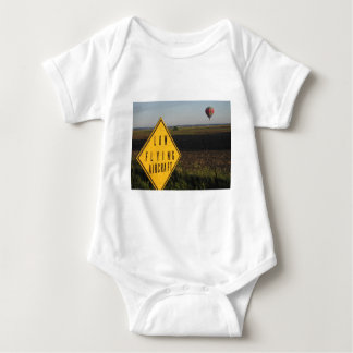 Low Flying Aircraft Baby Bodysuit