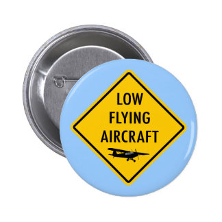 Low Flying Aircraft - Traffic Sign Buttons