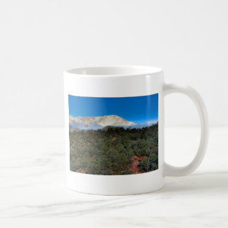 Low Fog and Snow Classic White Coffee Mug