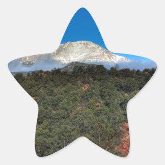 Low Fog and Snow Star Sticker
