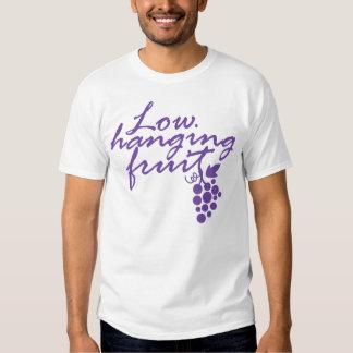 Low Hanging Fruit Grapes Wine Lover Gift Vineyard Shirt