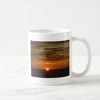 Low Horizon Sunset 2 Classic White Coffee Mug