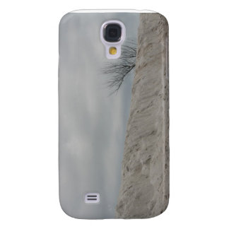 Low key photo of beach dune and dead tree samsung galaxy s4 case