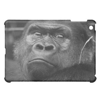 Low Land Gorilla Black and White Prtrait Cover For The iPad Mini