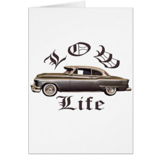 Low Life Oldsmobile Lowrider Card