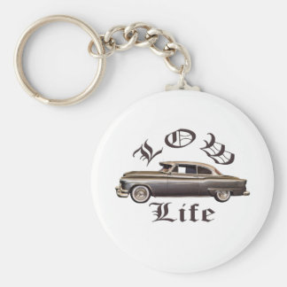 Low Life Oldsmobile Lowrider Keychain