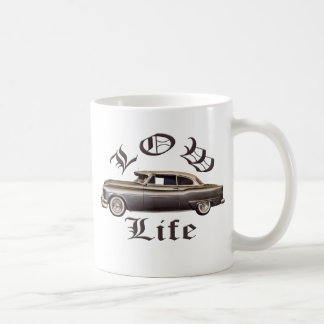 Low Life Oldsmobile Lowrider Classic White Coffee Mug