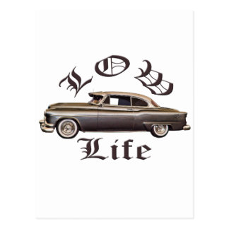 Low Life Oldsmobile Lowrider Postcard