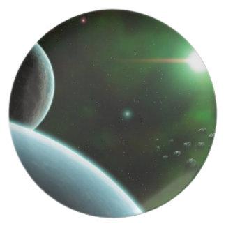 Low Orbit Dinner Plate