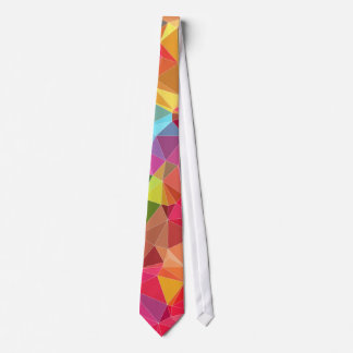 low poly background abstract pattern bright colors tie