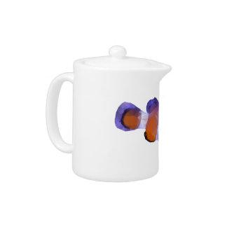 Low Poly Clown Fish Teapot