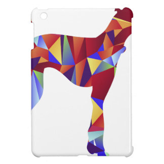 Low Poly Greyhound Dog Icon iPad Mini Covers