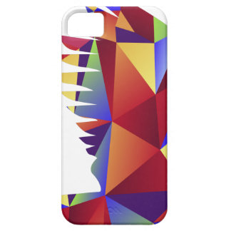 Low Poly Pattern Flying Crow Bird Icon iPhone SE/5/5s Case