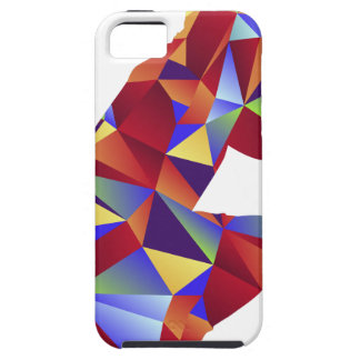 Low Poly Pattern Photographer Man Icon iPhone 5 Case