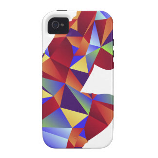 Low Poly Pattern Photographer Man Icon Case-Mate iPhone 4 Case