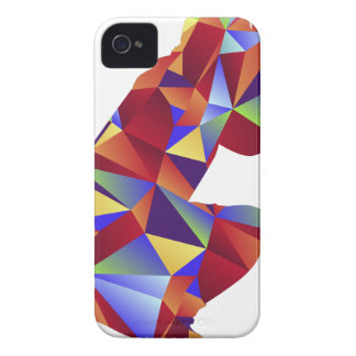 Low Poly Pattern Photographer Man Icon Case-Mate iPhone 4 Cases