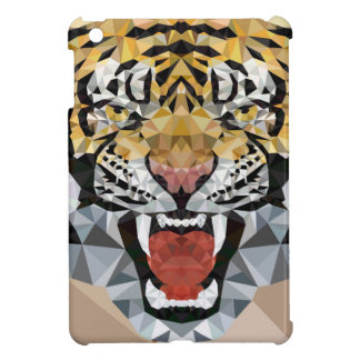 Low poly Tiger Cover For The iPad Mini