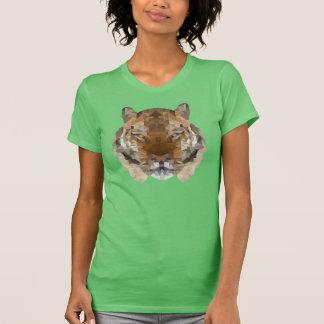 Low Polygon Tiger Tee Shirt