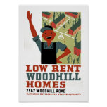 Low Rent Poster