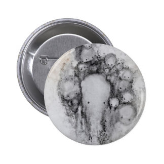 low res brain II Pinback Buttons