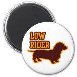 Low Rider 2 Inch Round Magnet