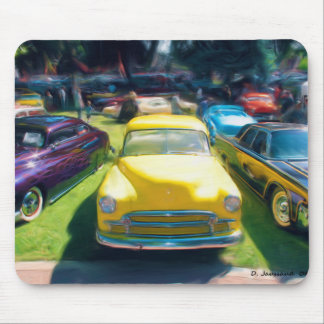 Low Rider Car Show Mouse Pad