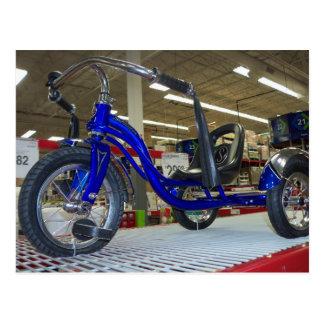 Low-riding Pedal Trike Postcard