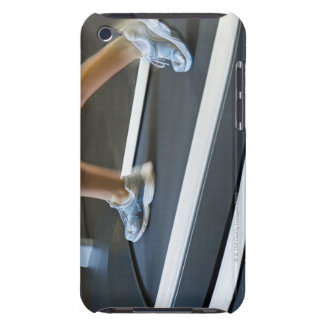 Low section of woman walking on treadmill 2 barely there iPod case