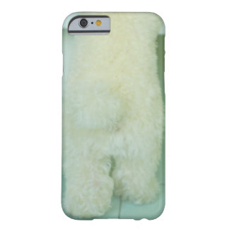 Low section view of a miniature poodle barely there iPhone 6 case