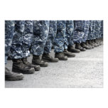 Low section view of sailors art photo