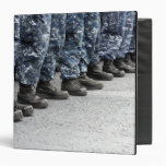 Low section view of sailors binders