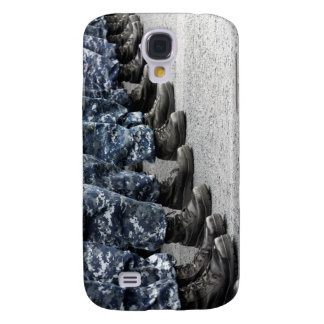 Low section view of sailors galaxy s4 cases