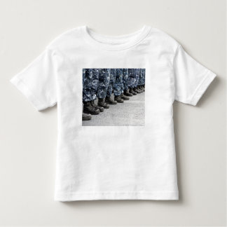 Low section view of sailors toddler t-shirt