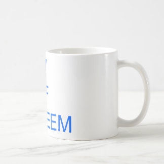 low self esteem classic white coffee mug