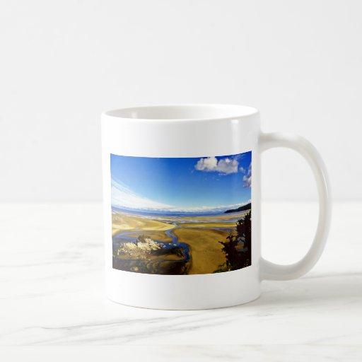 Low Tide, Abel Tasman National Park, South Island Mugs