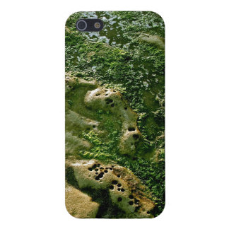 LOW TIDE AND EROSION DETAILS AT THE BEACH iPhone SE/5/5s COVER