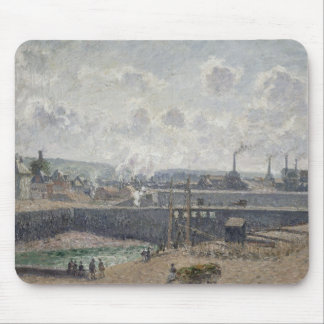 Low Tide at Duquesne Docks, Dieppe, 1902 Mouse Pad