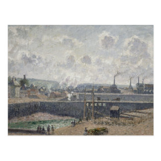 Low Tide at Duquesne Docks, Dieppe, 1902 Postcard