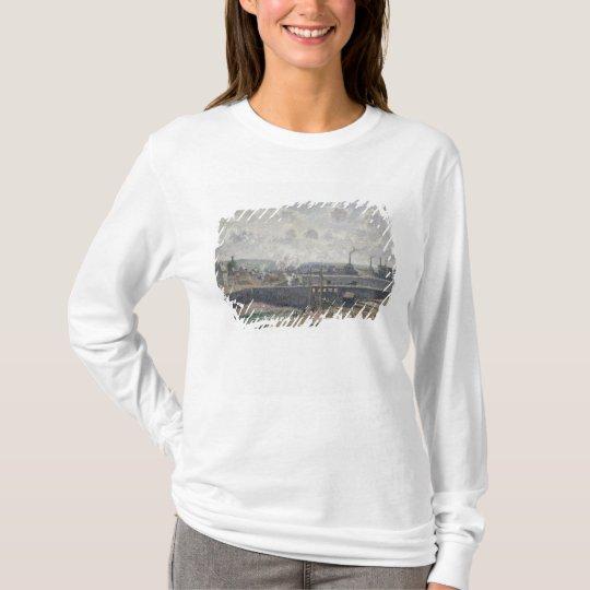Low Tide at Duquesne Docks, Dieppe, 1902 T-Shirt