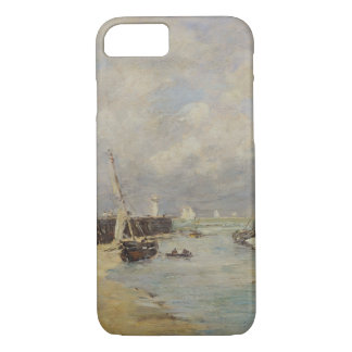 Low Tide at Trouville, 1895 (oil on panel) iPhone 7 Case