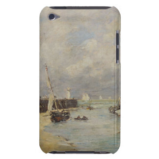 Low Tide at Trouville, 1895 (oil on panel) iPod Case-Mate Case